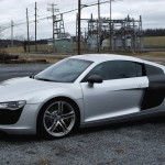 Audi R8 with new carbon fiber bits