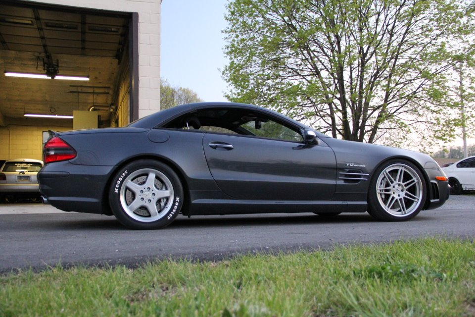 SL65 in drag setup