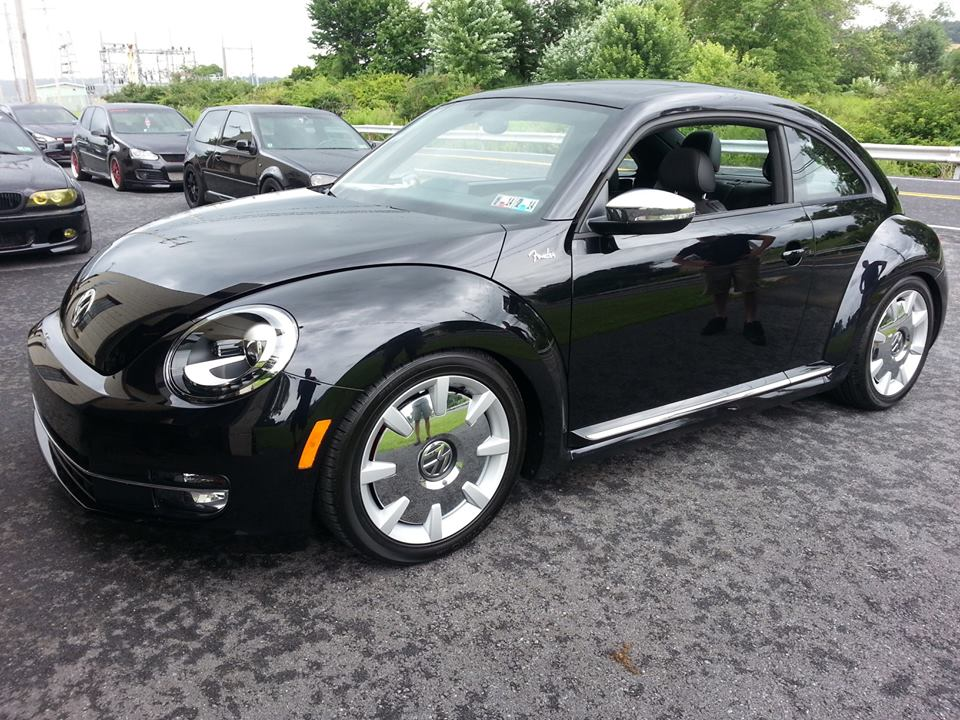 Cbtuningnew Beetle With Bc Racing Coilovers And Spm